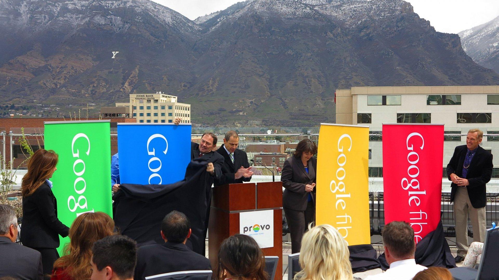 Provo, Utah welcomes Google Fiber in 2013.