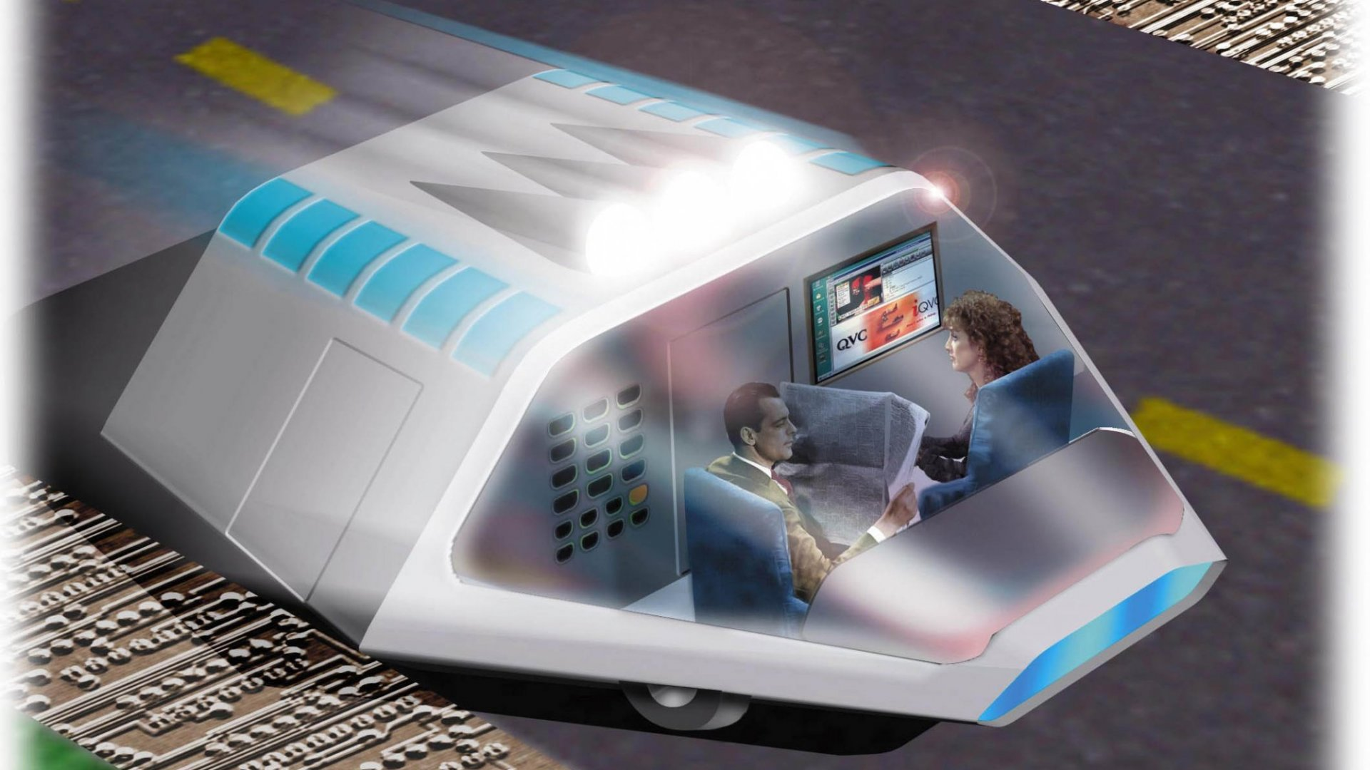 A Vision of How You'll Drive in the Future