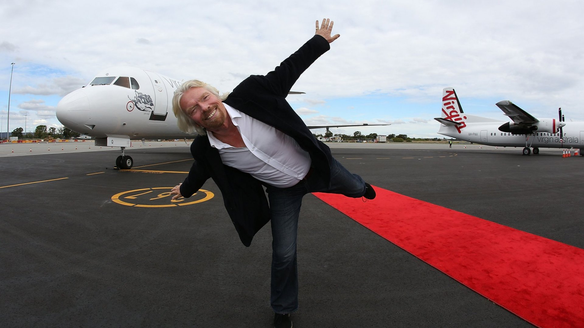 How Richard Branson Serves Up True Competition