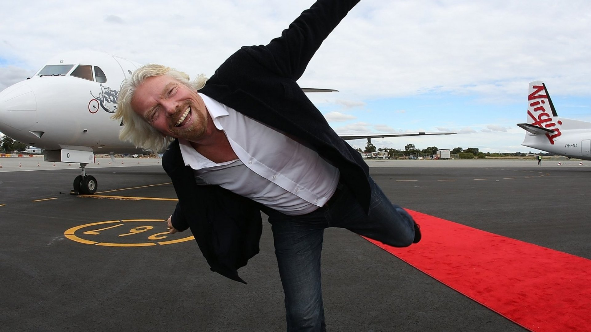 Richard Branson Weathers Hurricane Irma on His Private Island and Survives