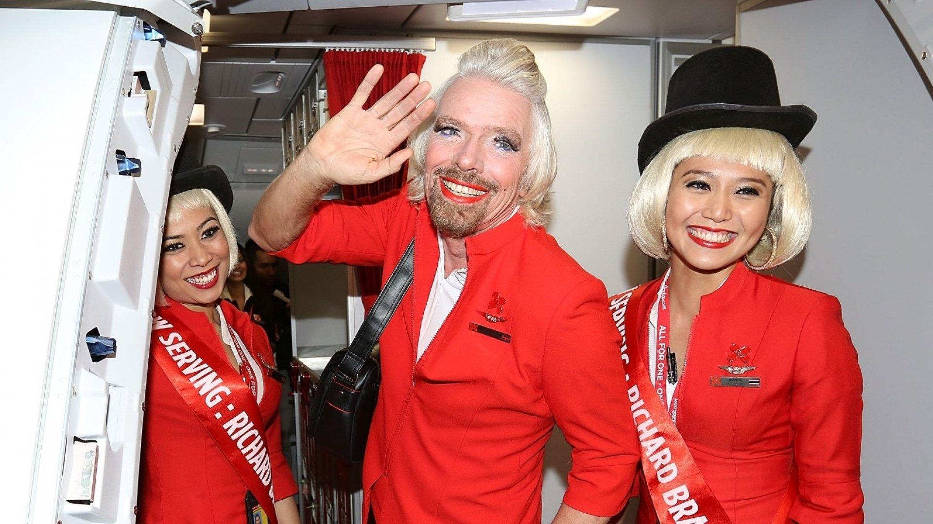 Sir Richard Branson's Advice to Entrepreneurs: Screw It, Just Do It