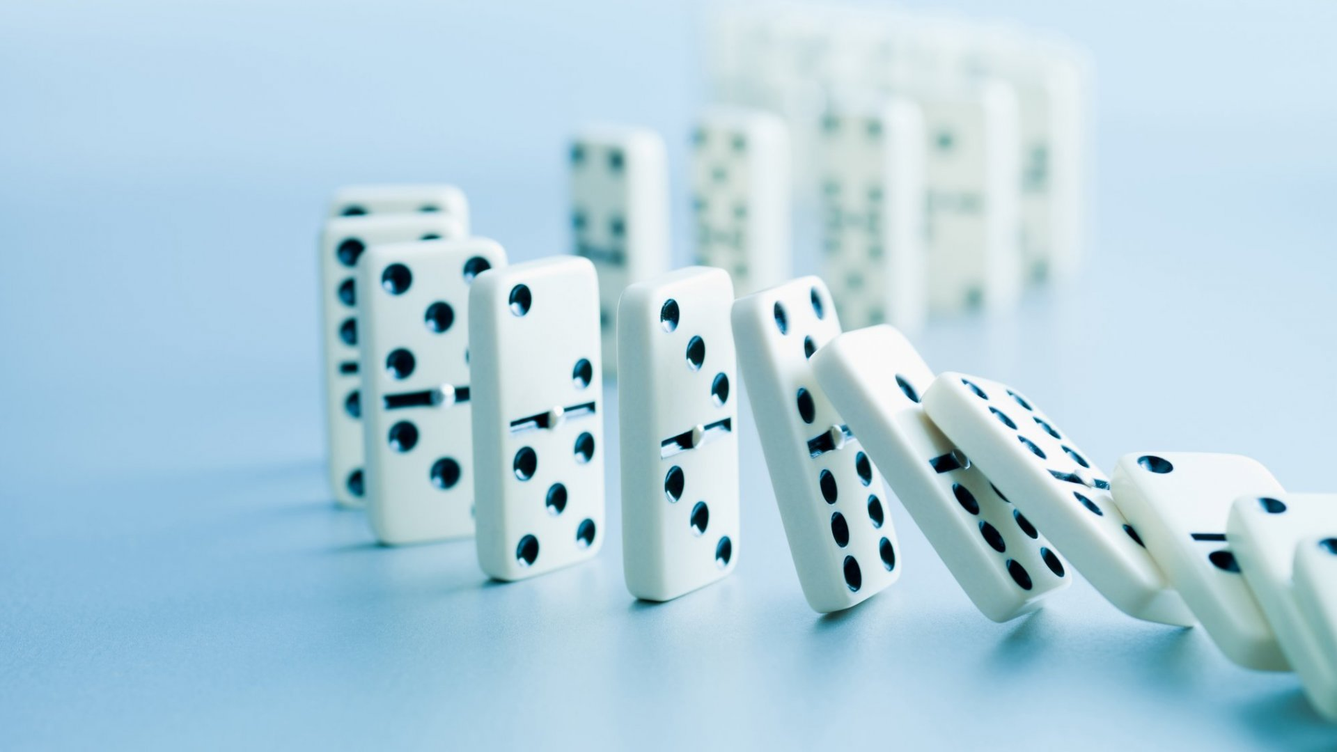 Want to achieve your ultimate goal but don't know how to get there? Here's how to line up the dominoes to success.
