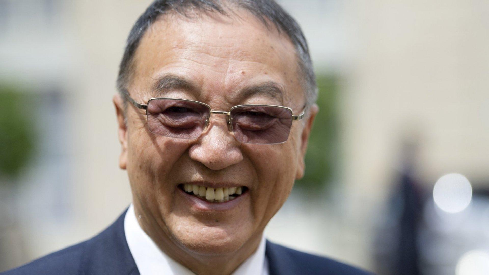 Lenovo founder Liu Chuanzhi.