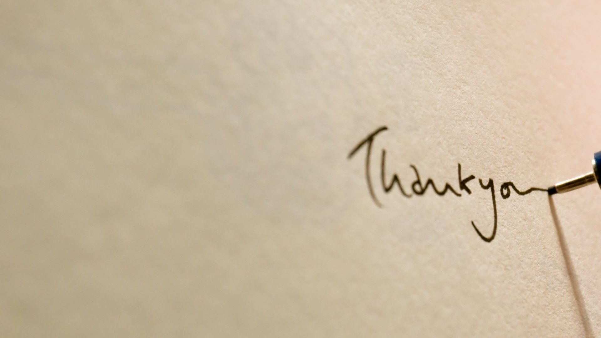 Behavioral Science Research Shows That We Should All Be Writing Thank-You Letters, ASAP