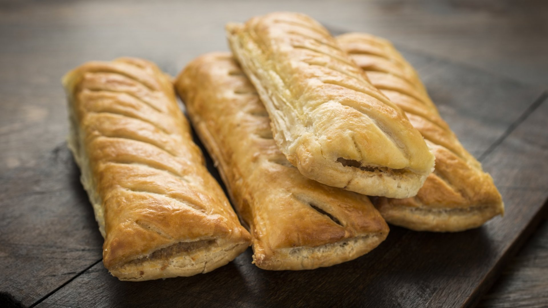 Your humble sausage roll.