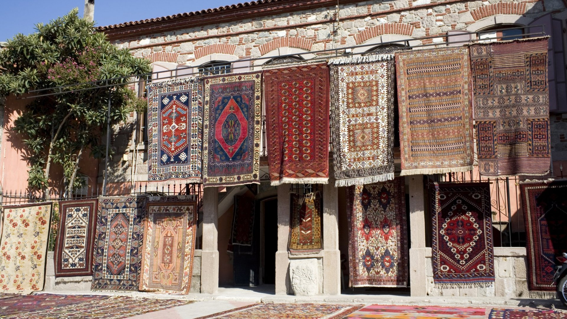 You learn a lot hustling Turkish rugs as a child.