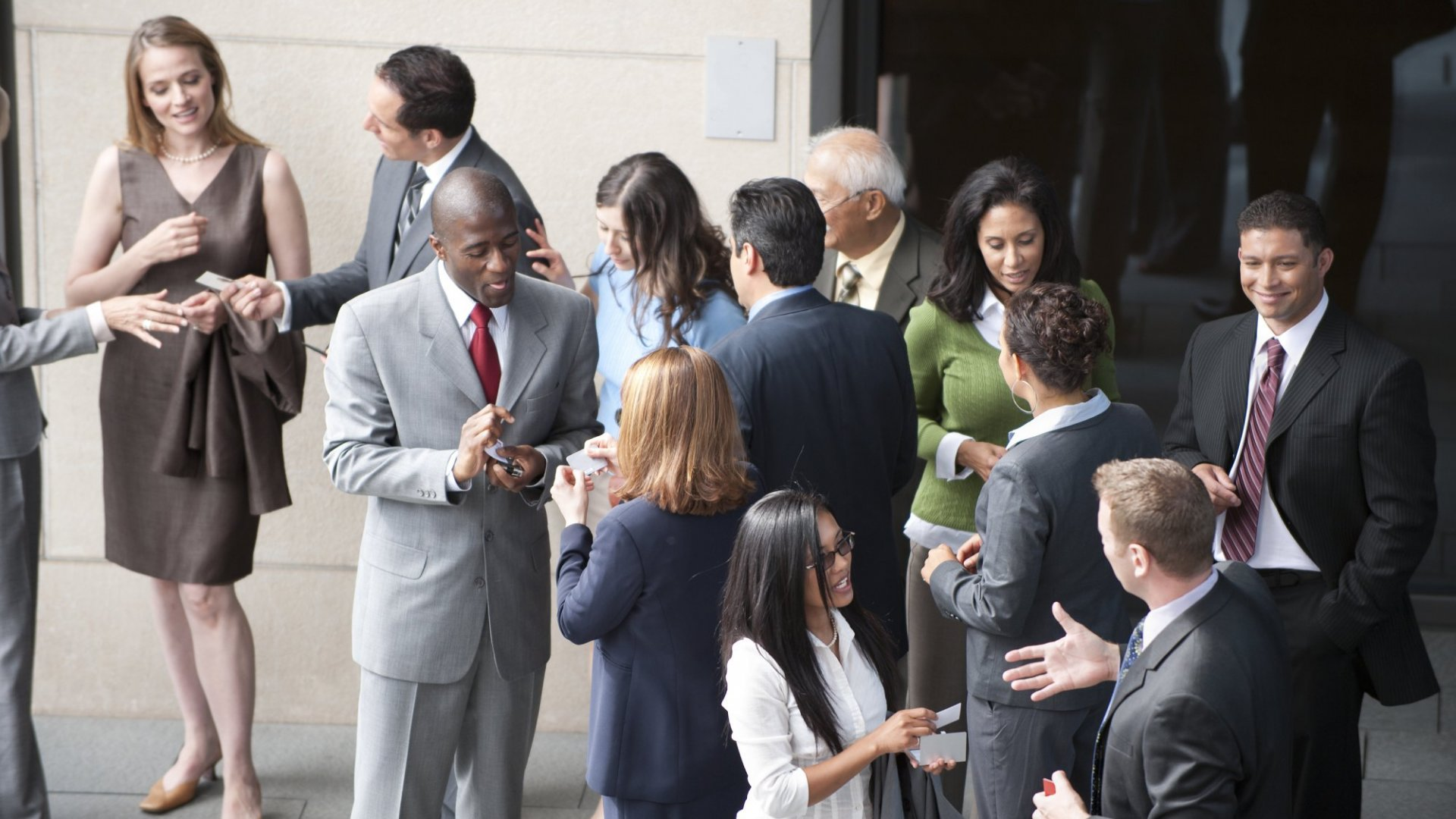 How to Make Networking about More Than Handing Out Business Cards