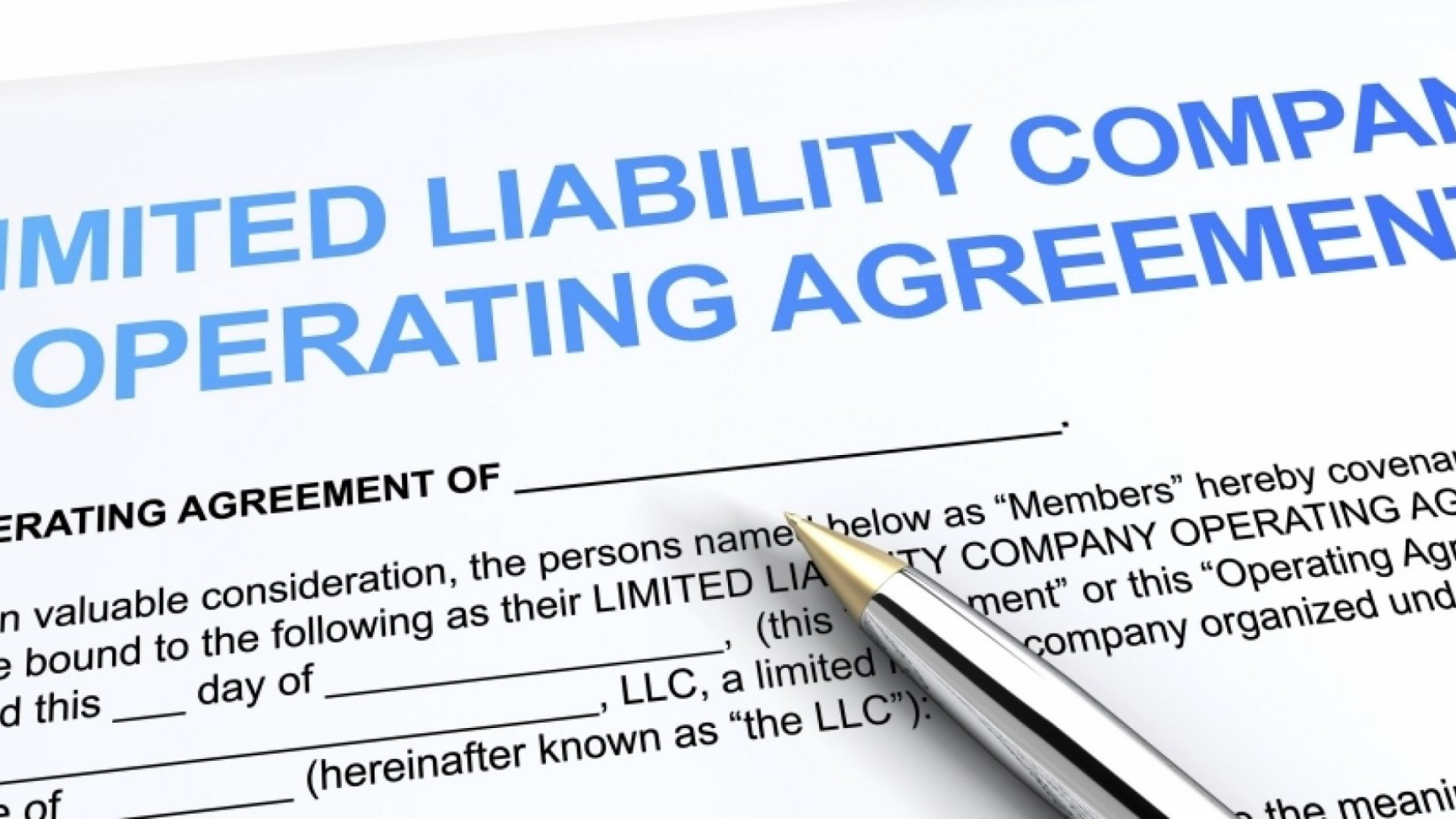 5 Reasons Why an LLC is the Right Structure for Your Startup