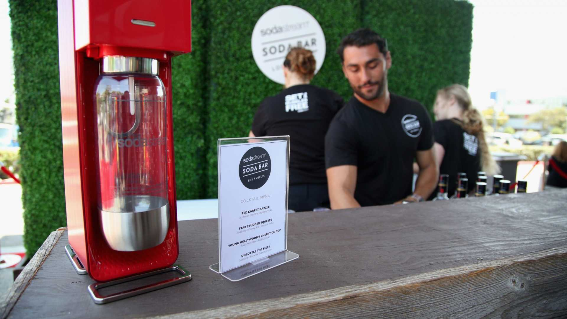SodaStream's New Countertop Device Magically Turns Water Into Booze