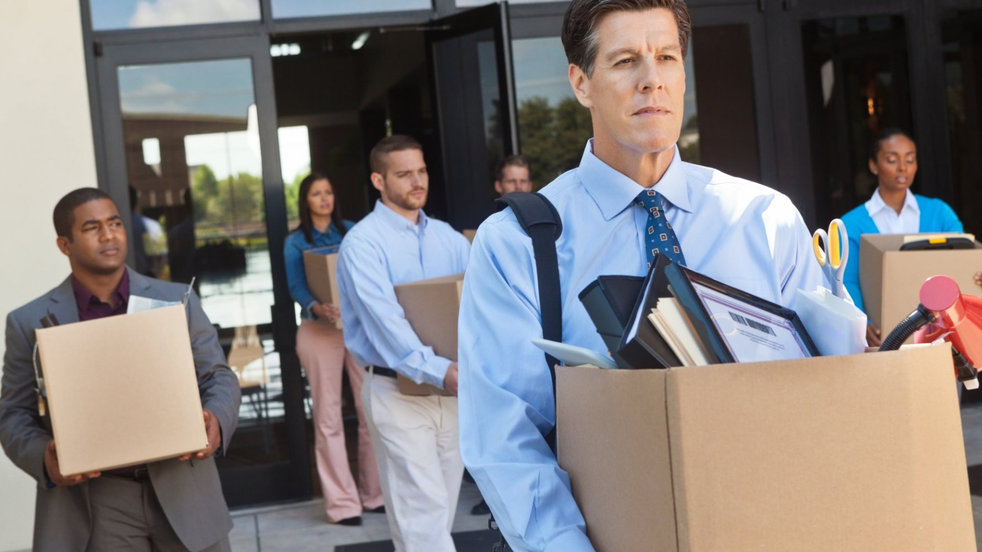 Do These 4 Critical Action Steps When You've Been (Unexpectedly) Laid Off
