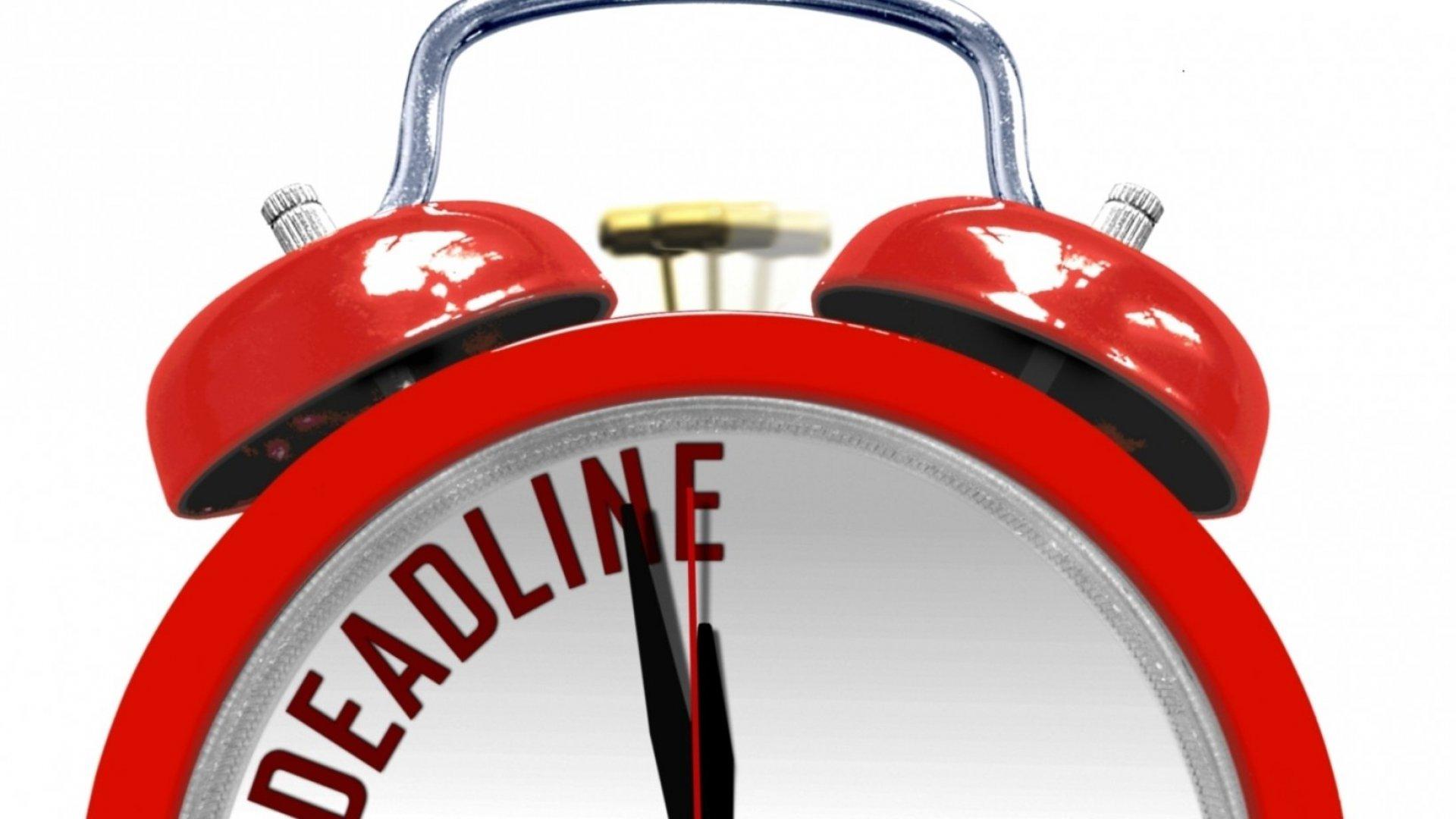Procrastinators, Rejoice! Doing Things at the Last Minute Actually Has Big Advantages