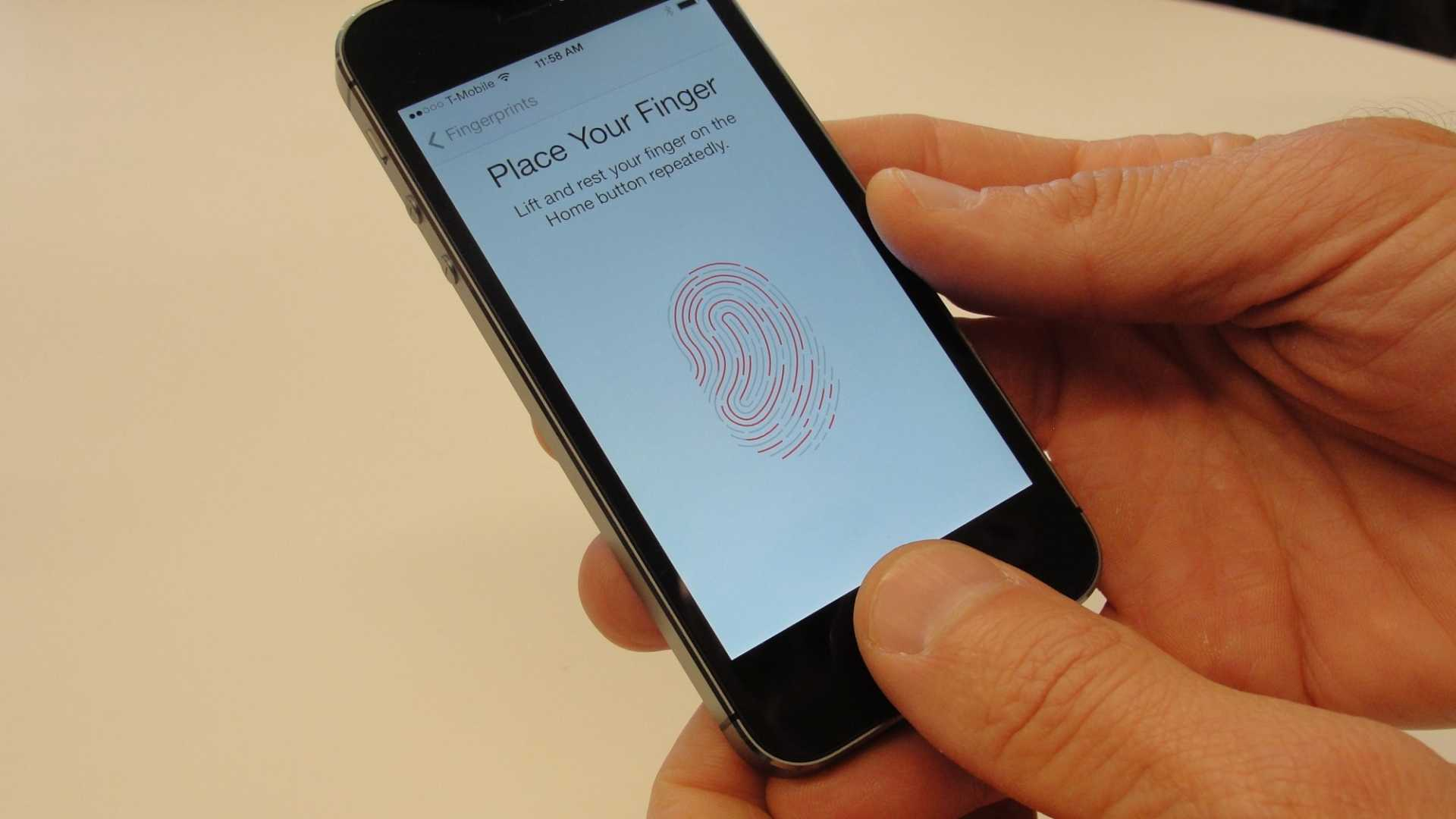 Using your fingerprint to open your phone could have legal consequences.