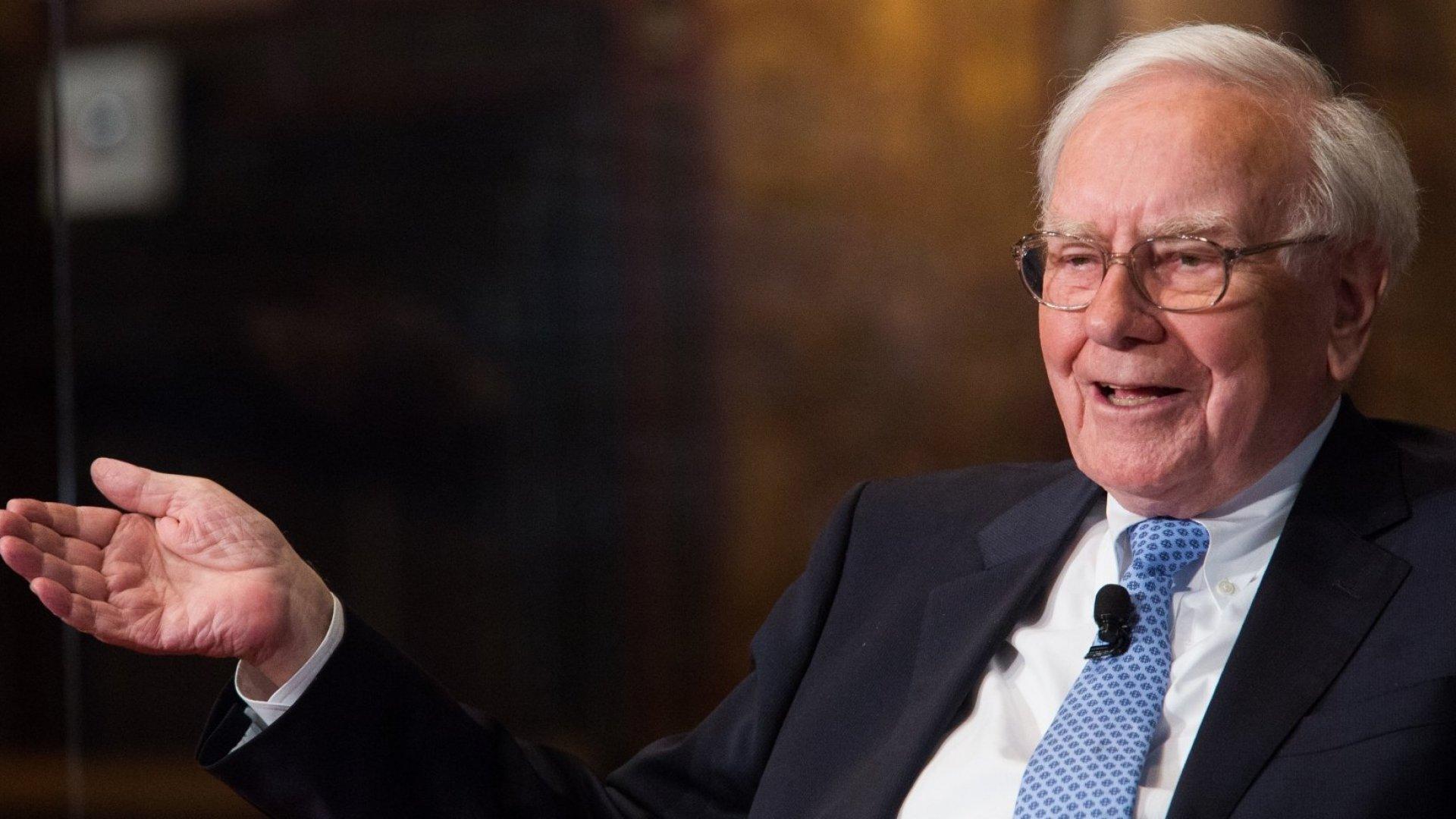 Warren Buffett, firmly in the Clinton camp.