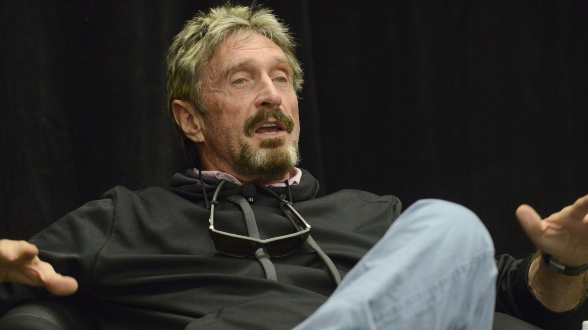 'It's Not Possible for Me to Lose': A Conversation With John McAfee