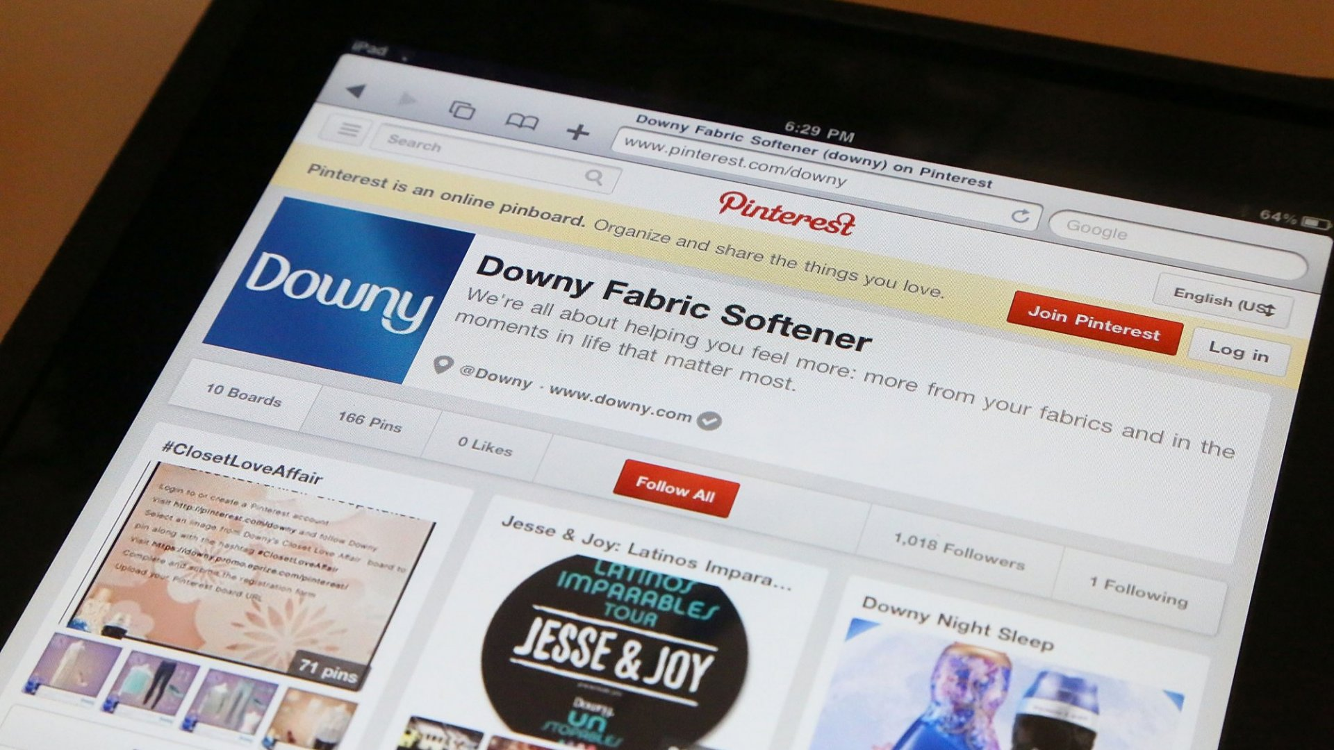 Pinterest Unveils New 'Action Buttons'