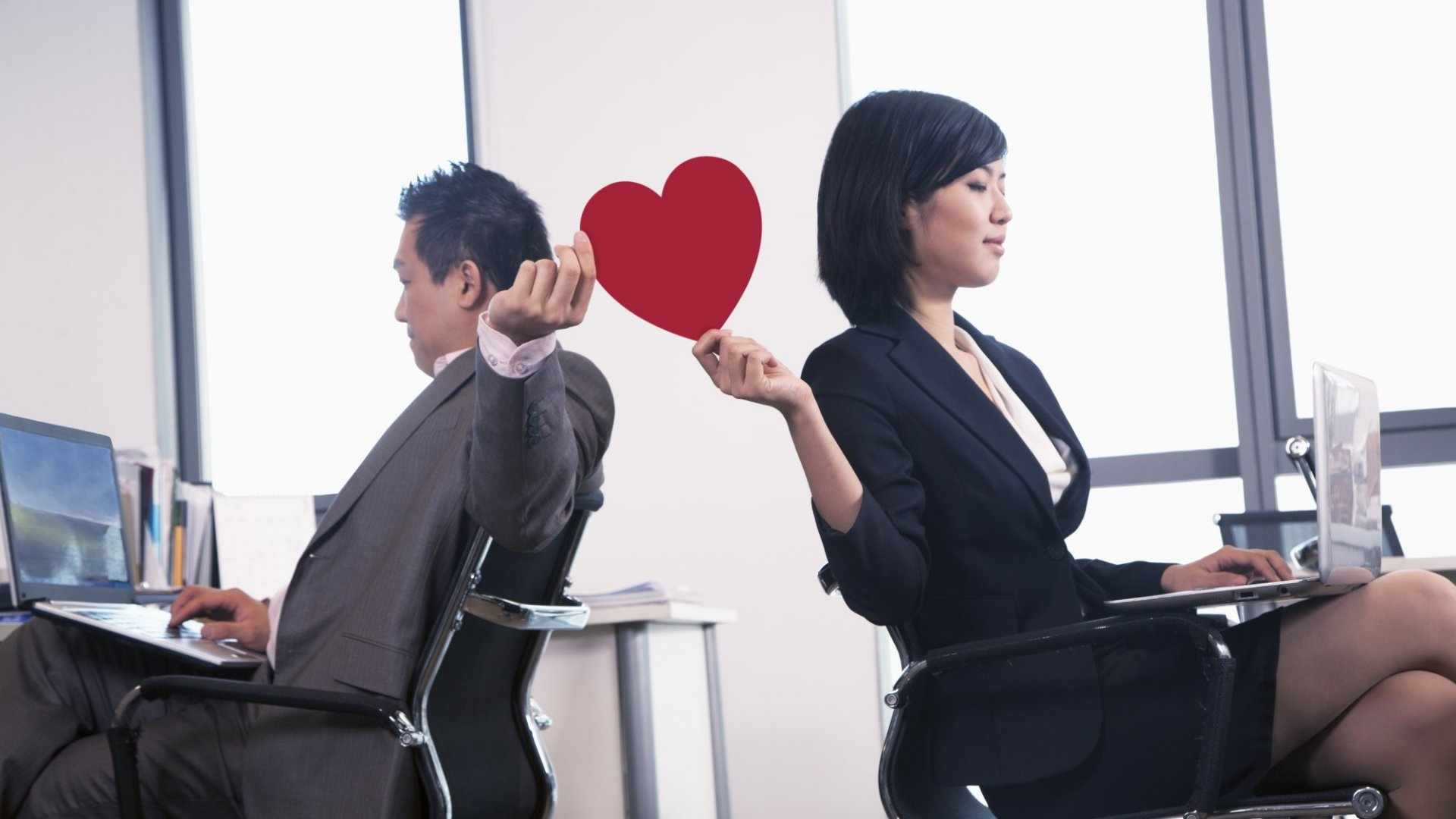 Ever Had a Crush on a Co-Worker? 31 Percent of People Who Meet at Work End Up Getting Married