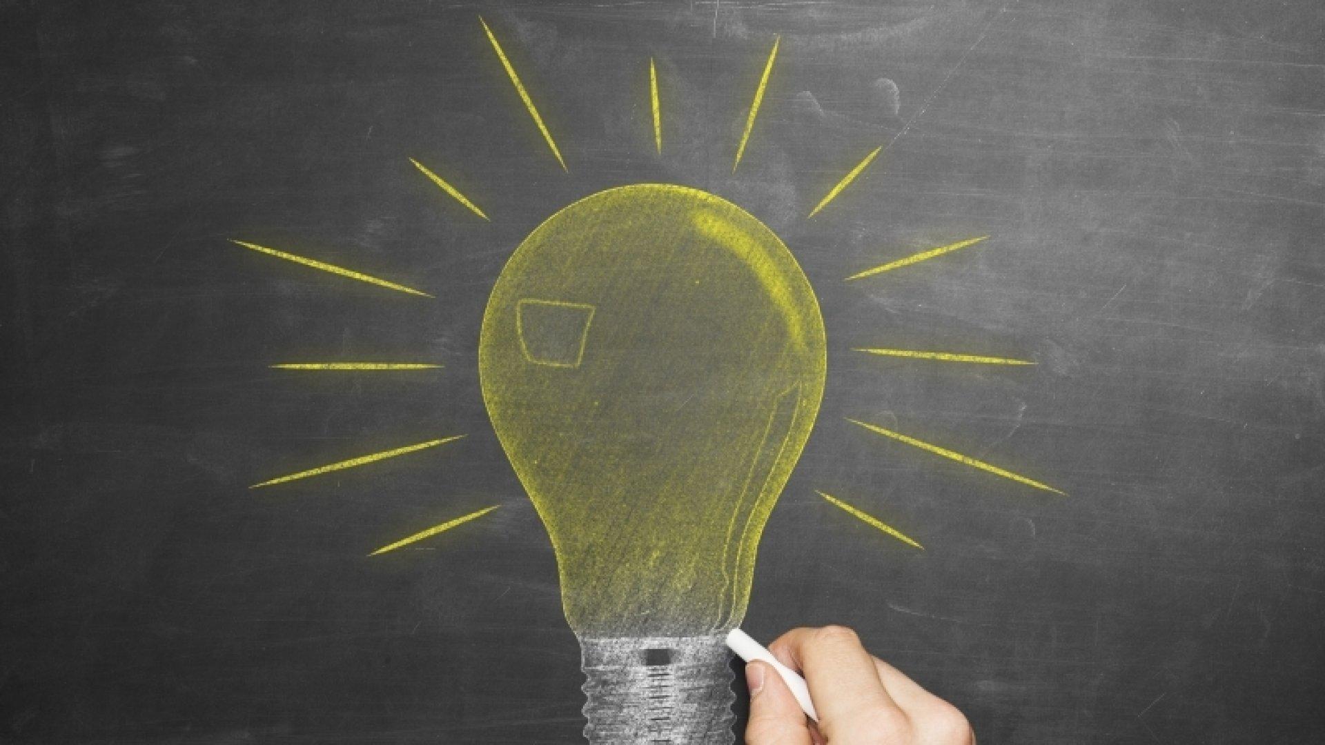 The Secret Formula for Big Ideas