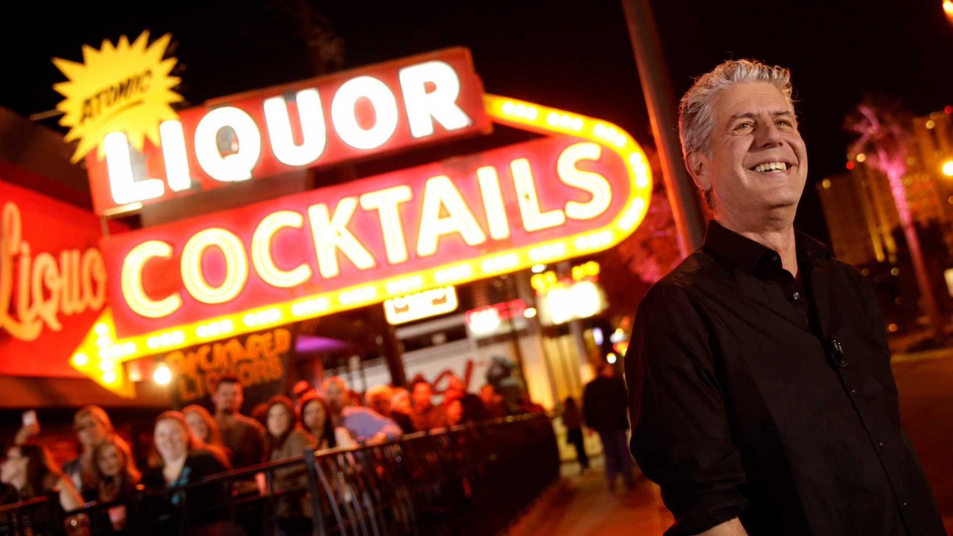 Anthony Bourdain Was a Living Lesson for Entrepreneurs on the Power of Passion