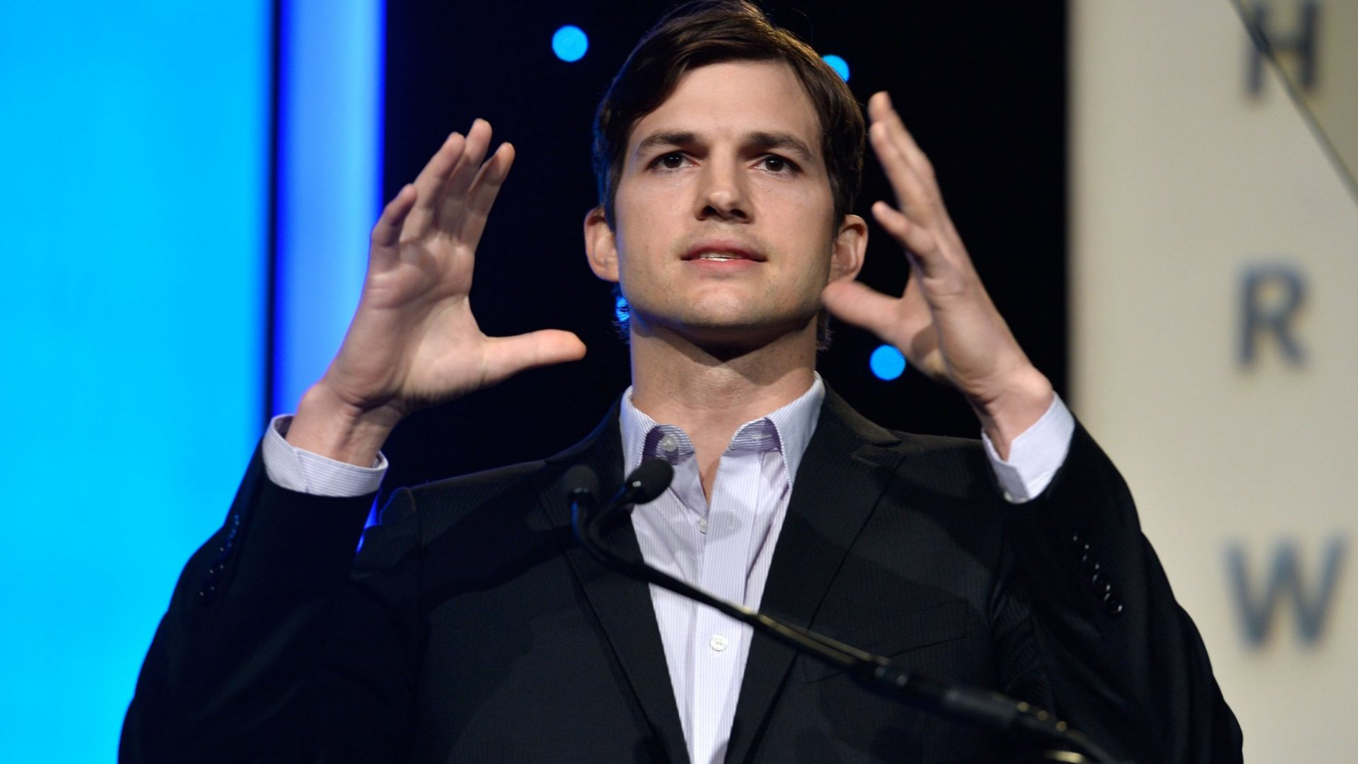 Ashton Kutcher Talks Gender Equality and Ending 'Hall Passes' for Sexual Harassment