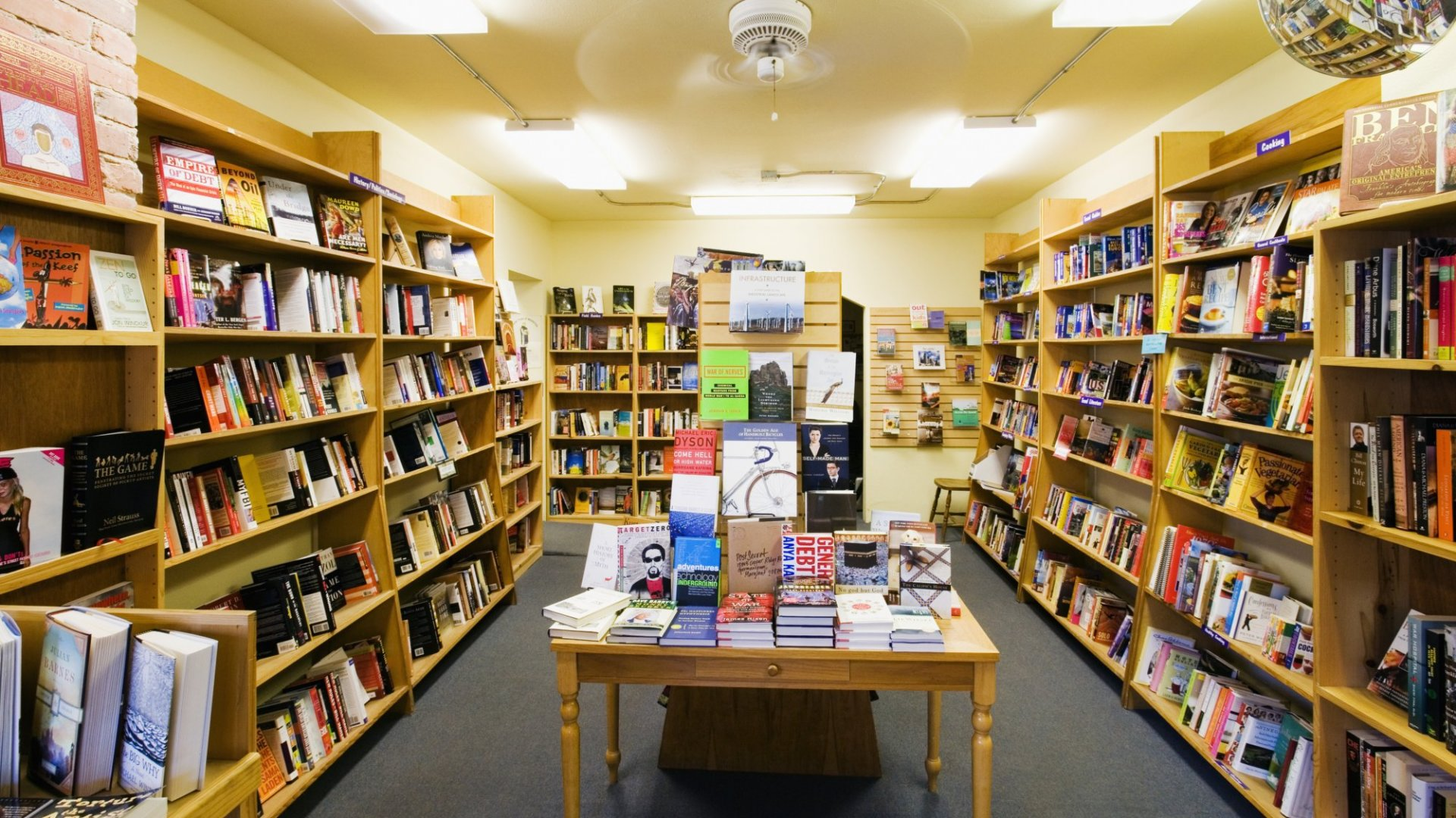 Could Bookstores Be The Next Start-Up Boom?