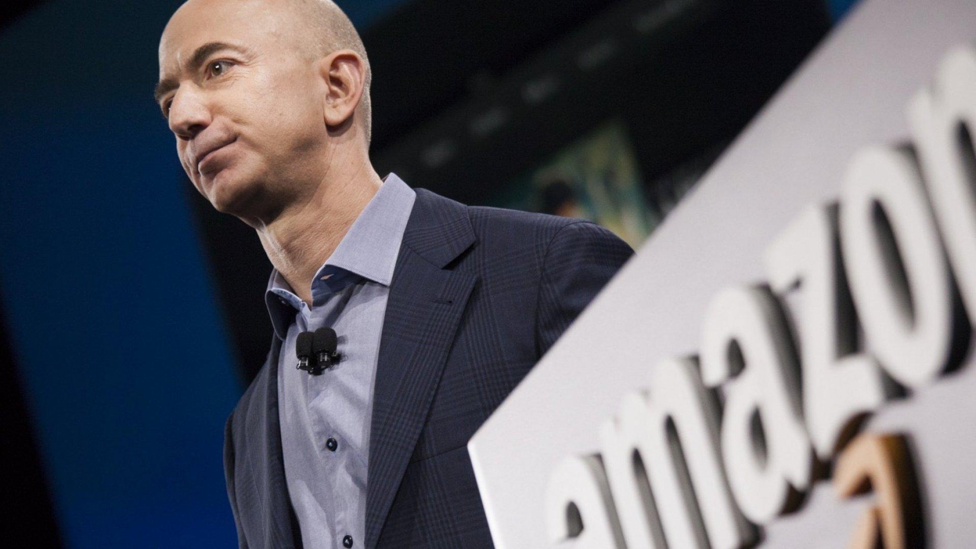 Amazon.com founder and CEO Jeff Bezos.