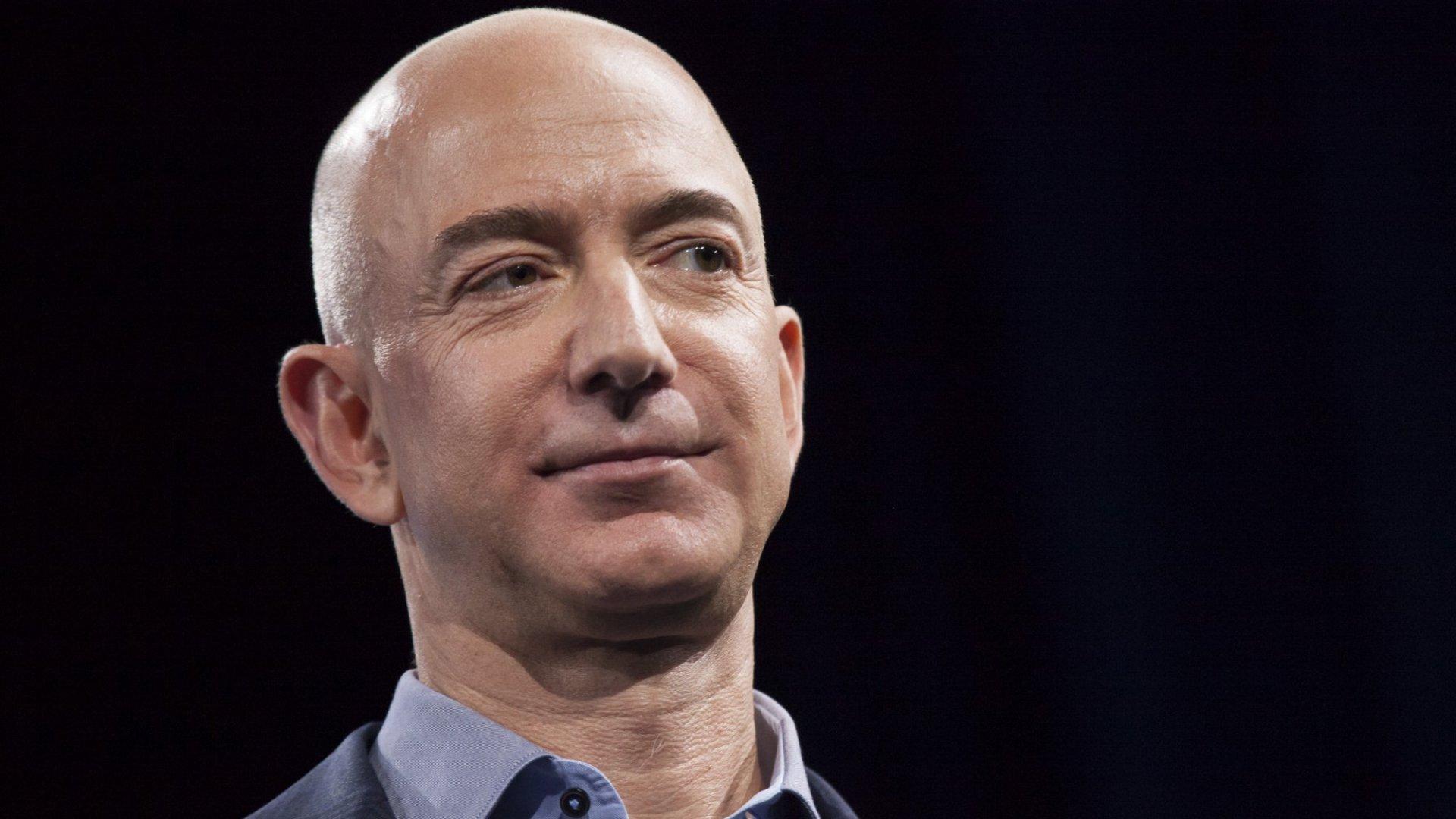 Amazon's Stock Price Has Soared. So Has Bezos's Worth