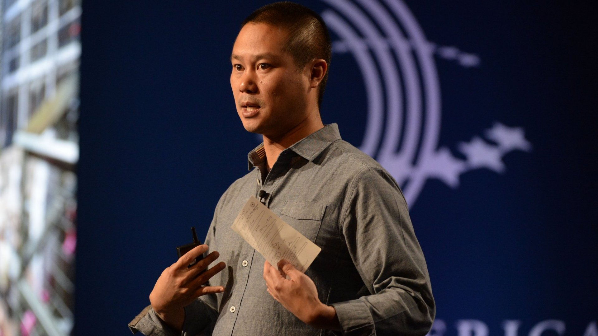 Why Tony Hsieh Is Turning Zappos Into a City