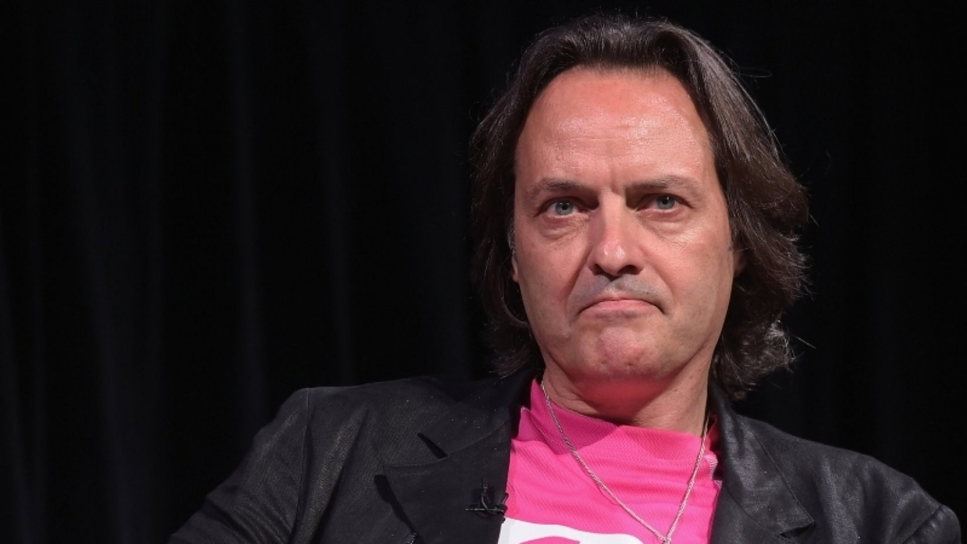 T-Mobile CEO/Executive Producer John Legere takes part in a Q&A following the HBO Documentary screening of 'Love Child' on July 15, 2014 in New York City. (Photo by Michael Loccisano/Getty Images for HBO)