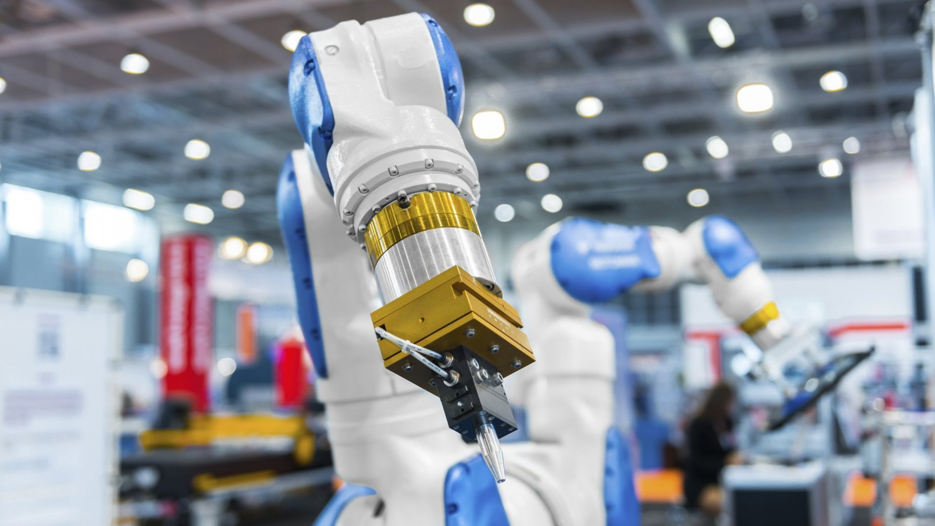 When it comes to marketing, sometimes a robot arm is just the thing you need to help you be less mechanical.