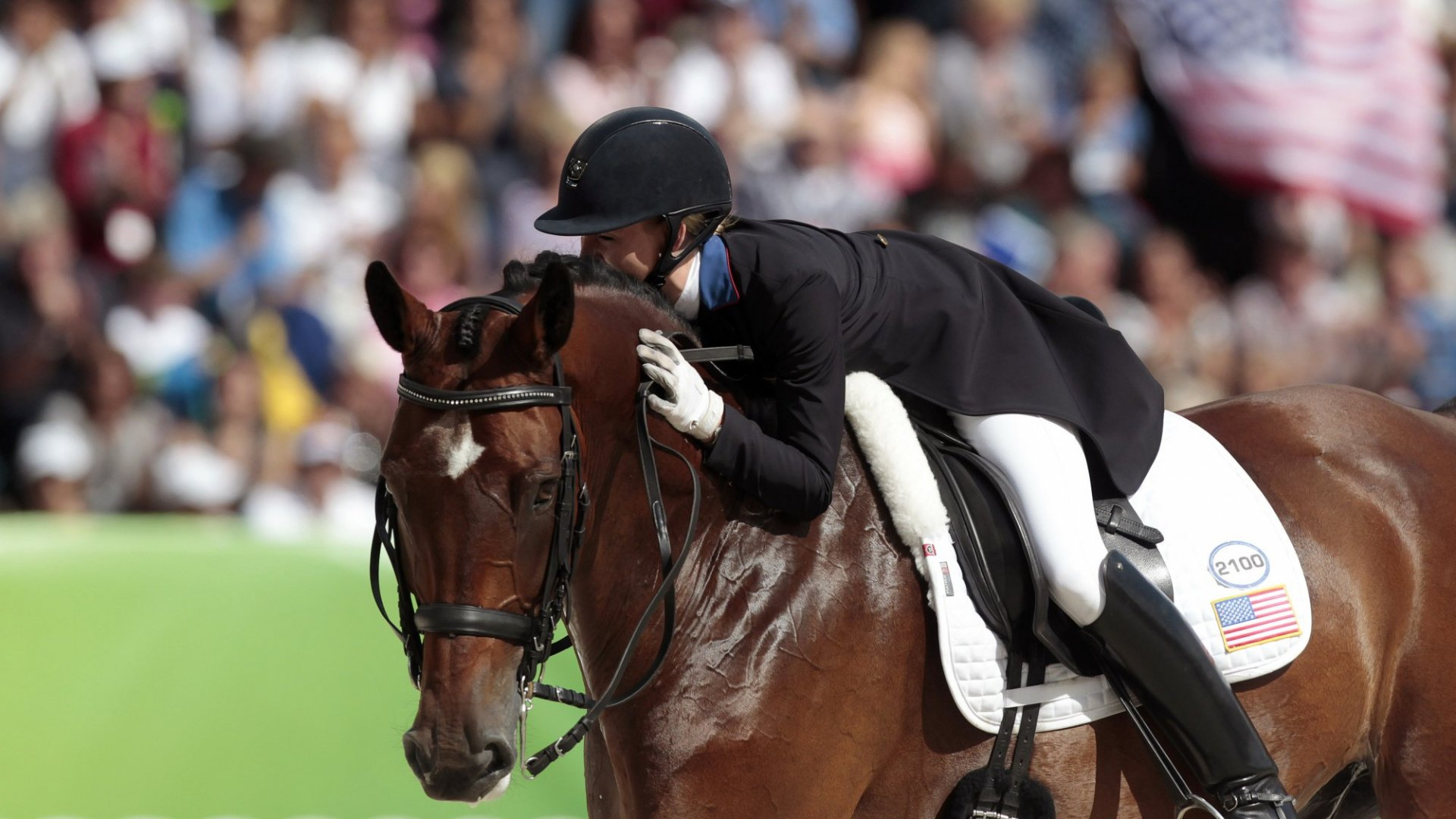 Do What You Love: Laura Graves, U.S. Olympic Dressage Team (and Her Horse, Diddy)