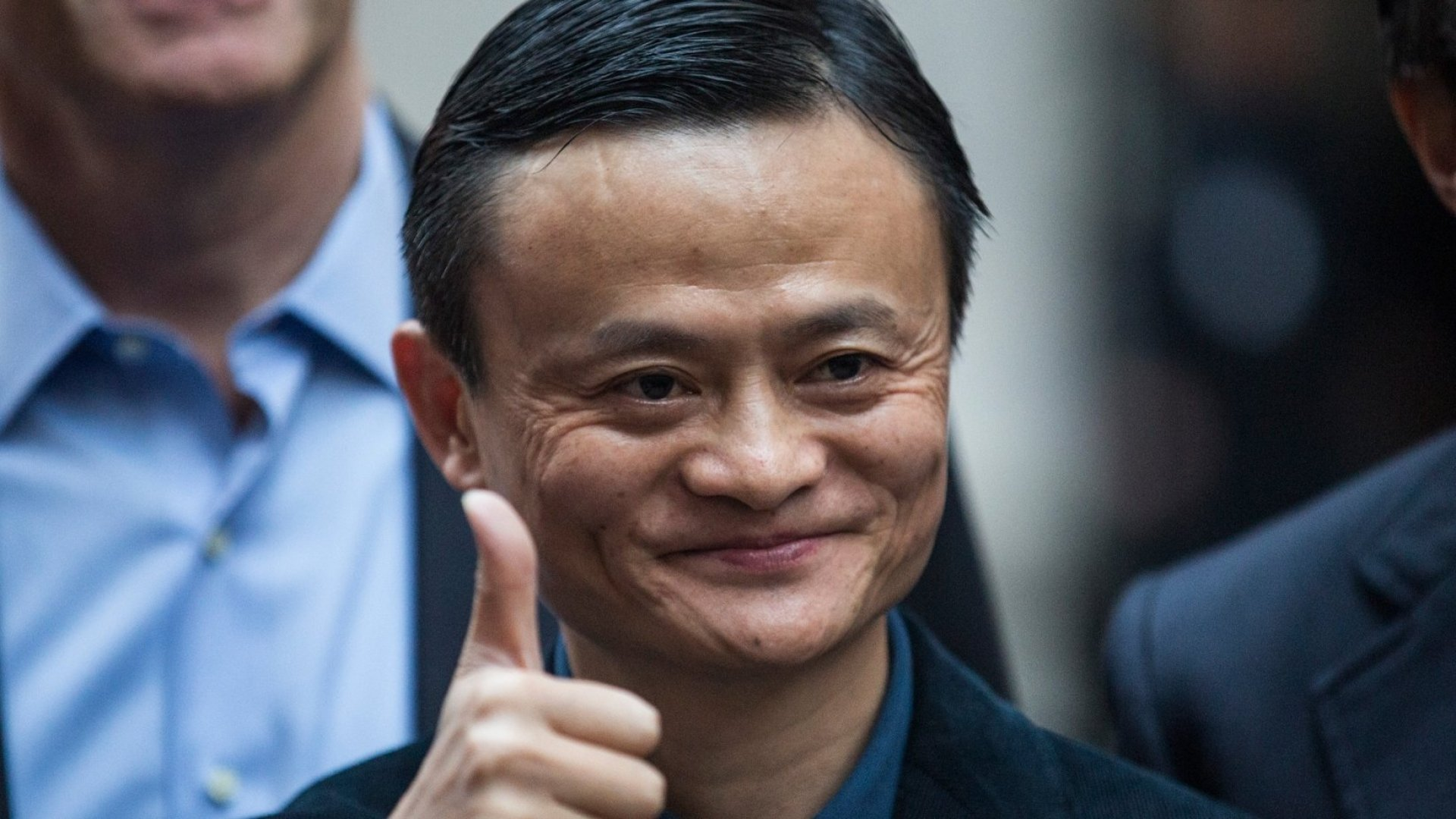 Jack Ma, CEO of the Alibaba Group.