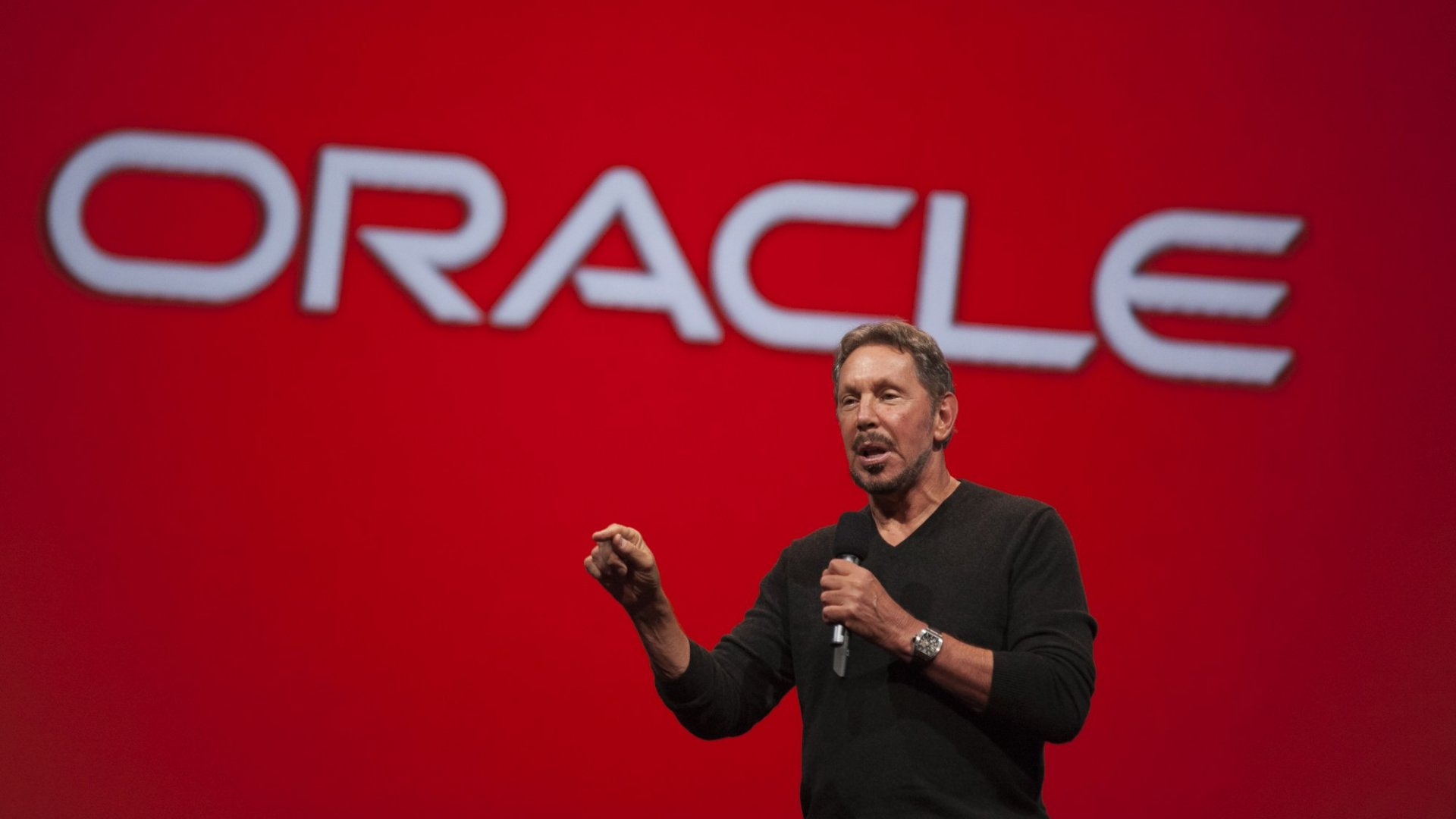 Oracle co-founder Larry Ellison.
