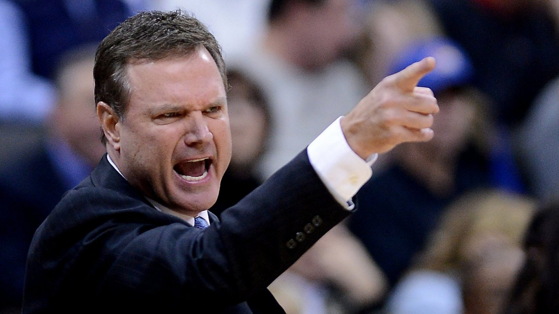 Kansas head coach Bill Self.