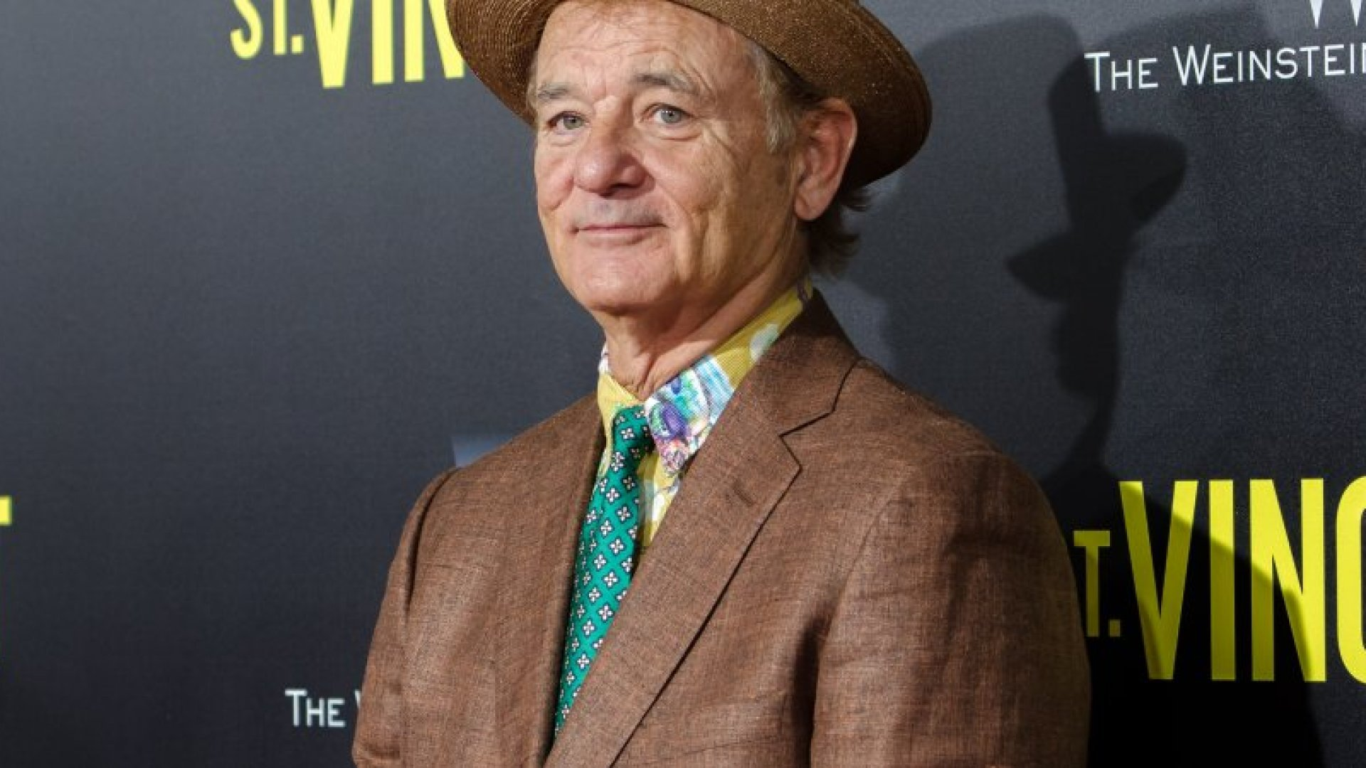 Actor Bill Murray attends the New York Premiere of 'St. Vincent' at the Ziegfeld Theater on October 6, 2014 in New York City.  (Photo by Mike Pont/FilmMagic)