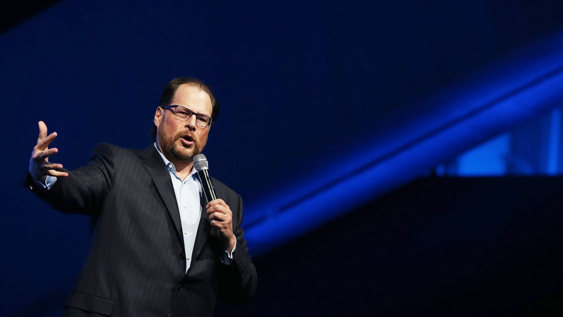 Salesforce CEO Marc Benioff on Equality at Work: 'I Have to Represent Everyone'