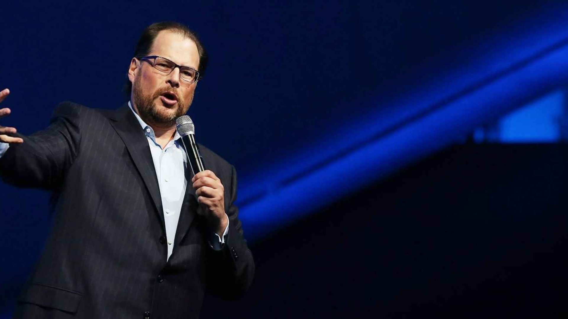 3 Questions Marc Benioff Wants to Ask Hillary Clinton and Donald Trump