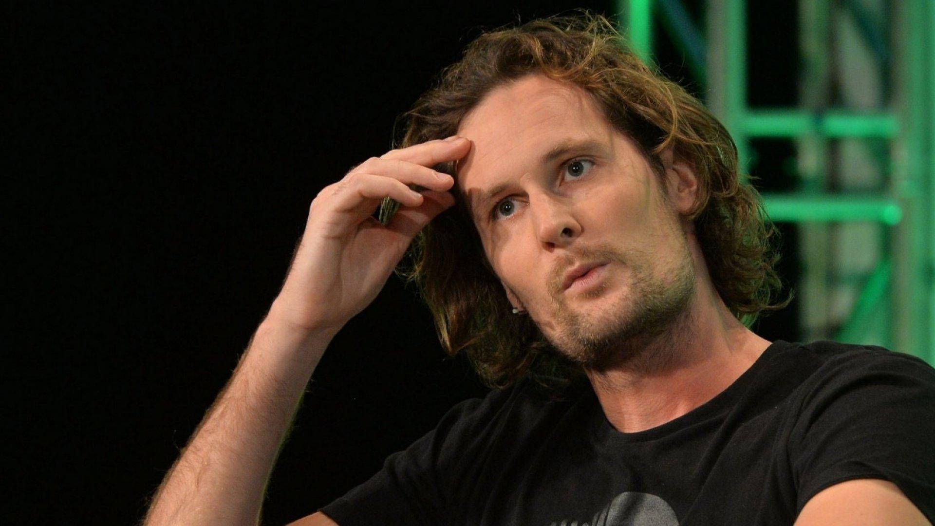 SoundCloud co-founder Eric Wahlforss.