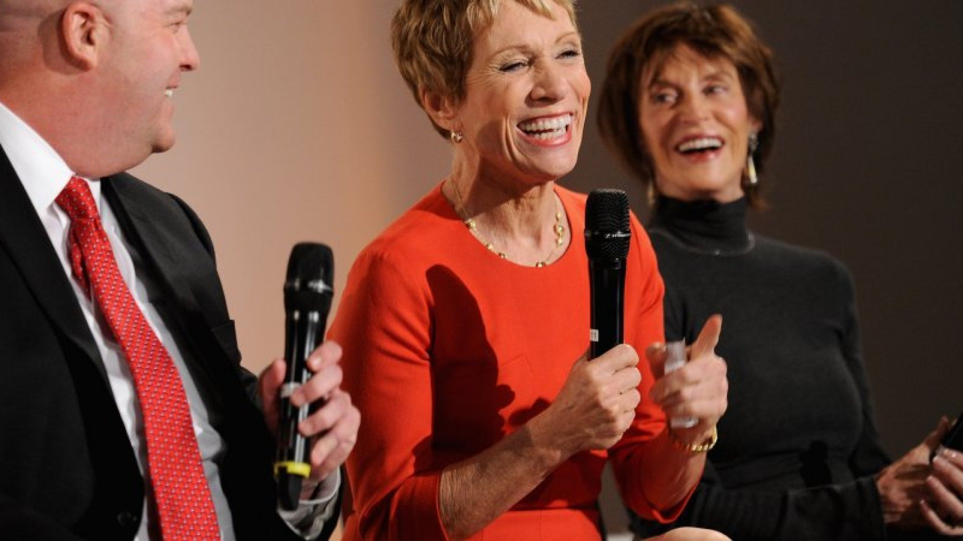 Barbara Corcoran and Charlotte Beers (pictured right) have a few words for those seeking balance: Don't bother.