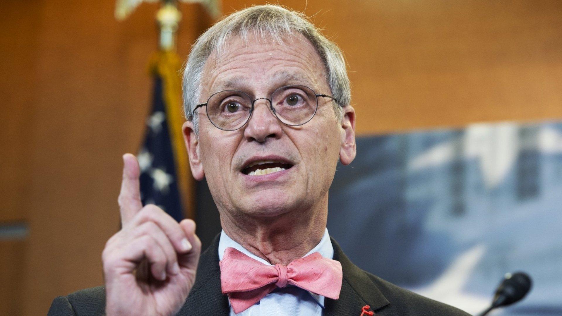 Rep. Earl Blumenauer, D-Oregon, has been fighting for marijuana reform for decades.