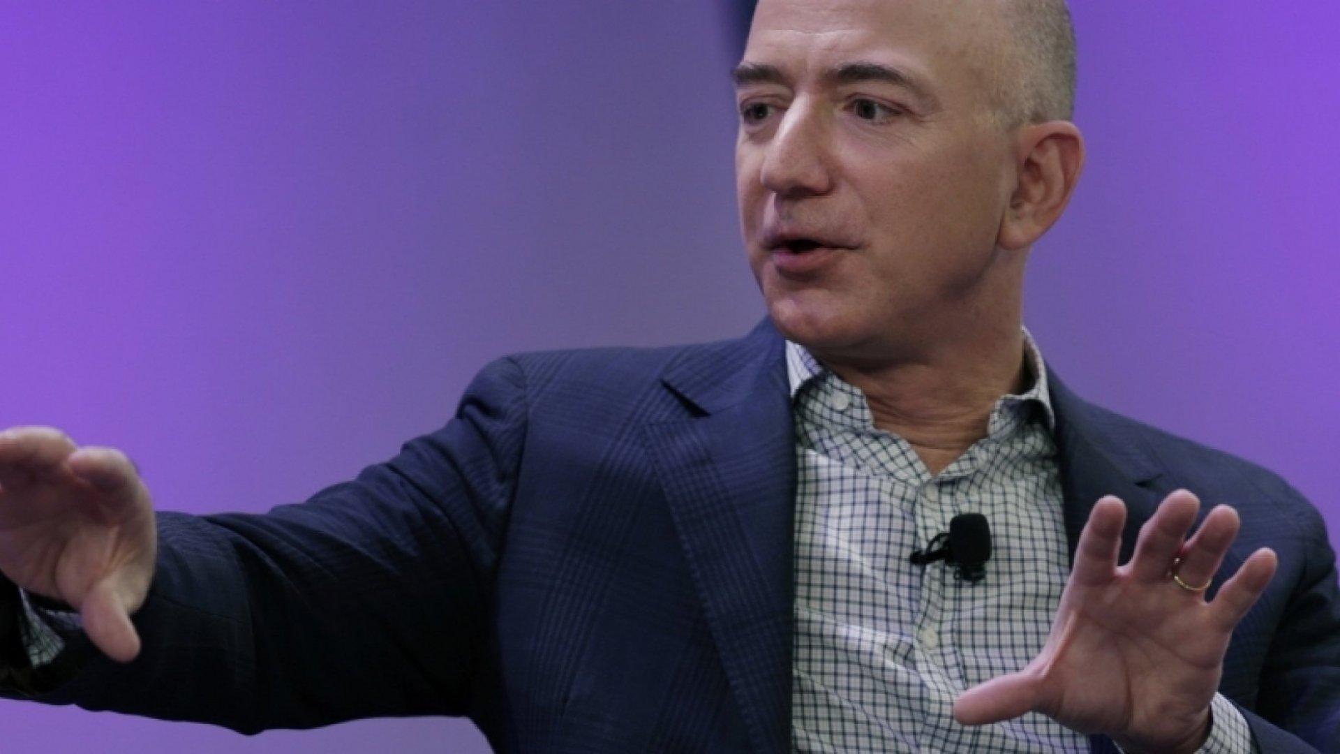 Jeff Bezos Dances to a New Tune: Keeping Investors Happy