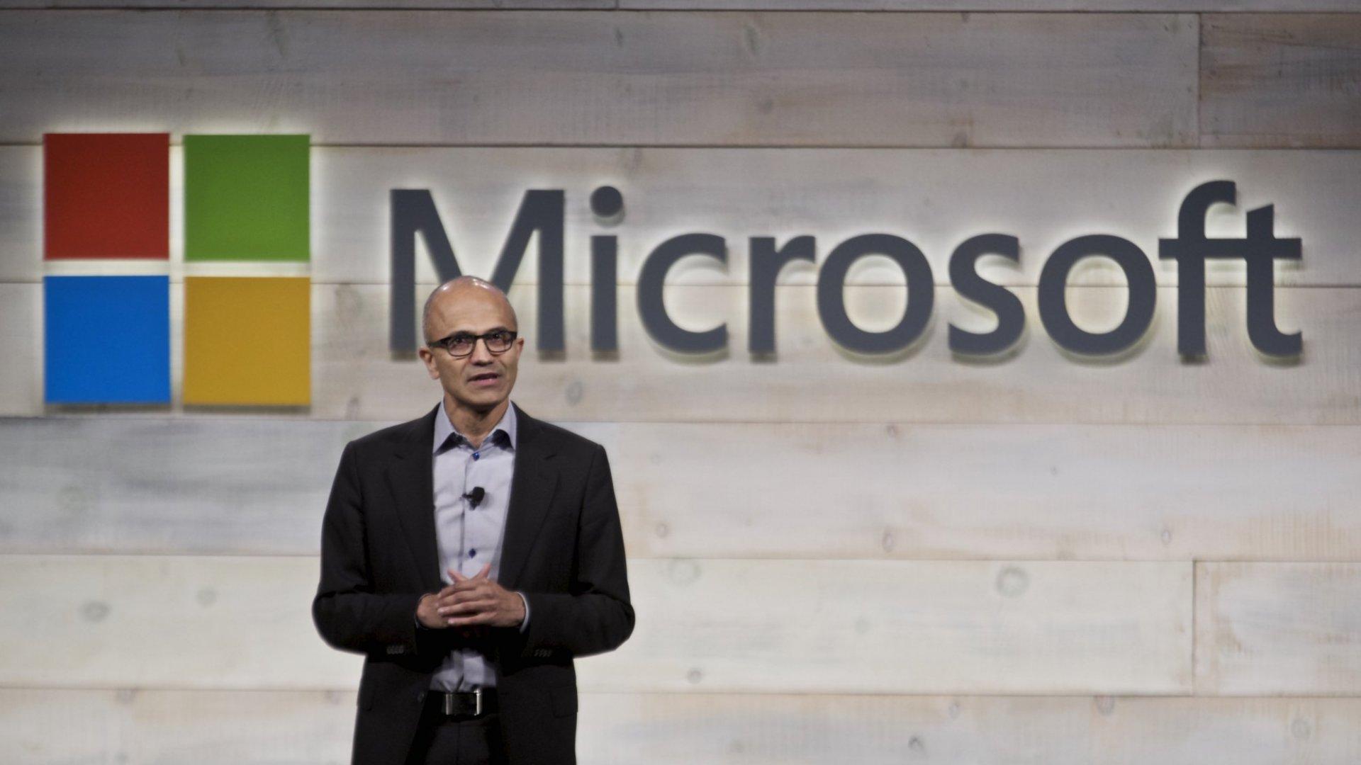 Microsoft Donates $1 Billion Worth of Cloud Computing Services to Charity