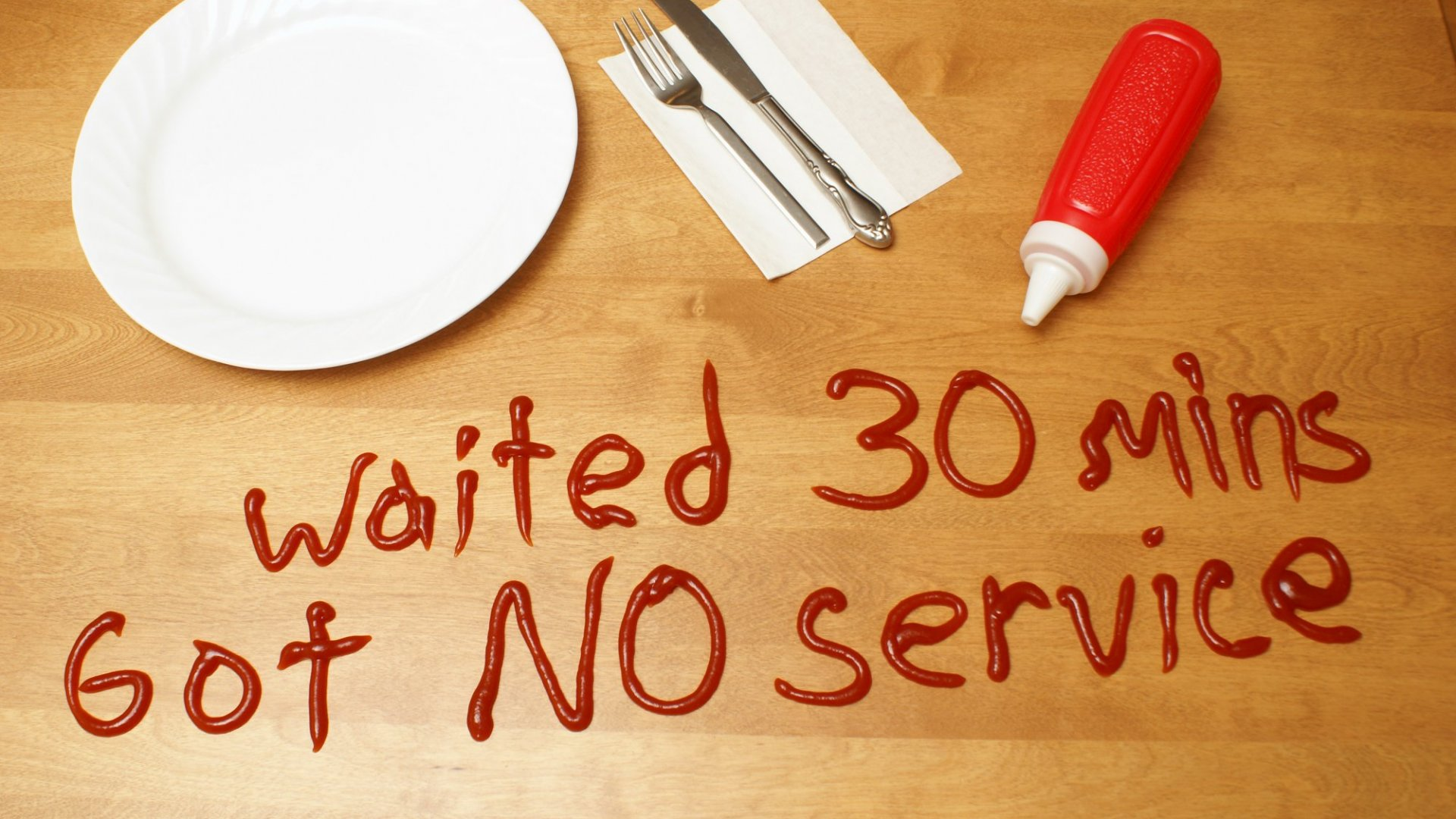 If our service drops when we get busy, lousy service may become the norm.