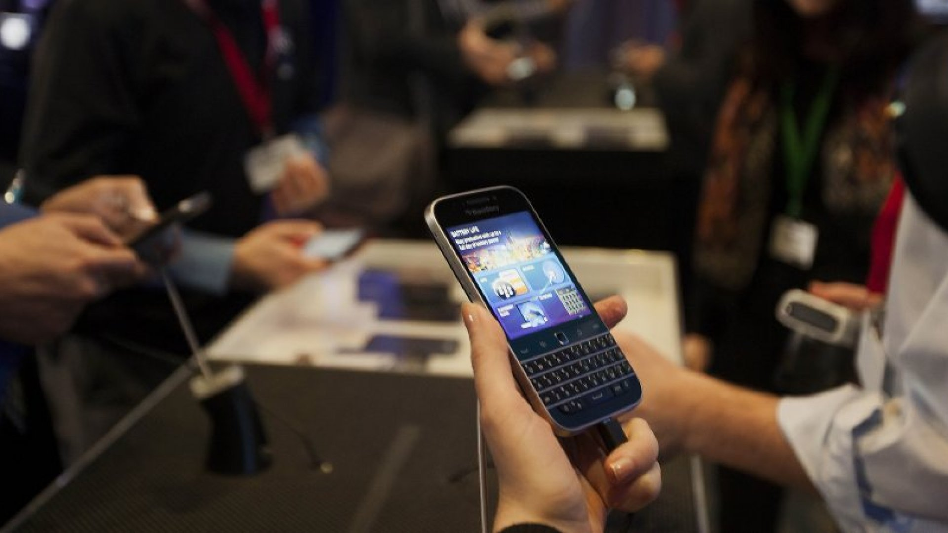 Ex-BlackBerry Co-CEO Speaks Out on Company Missteps