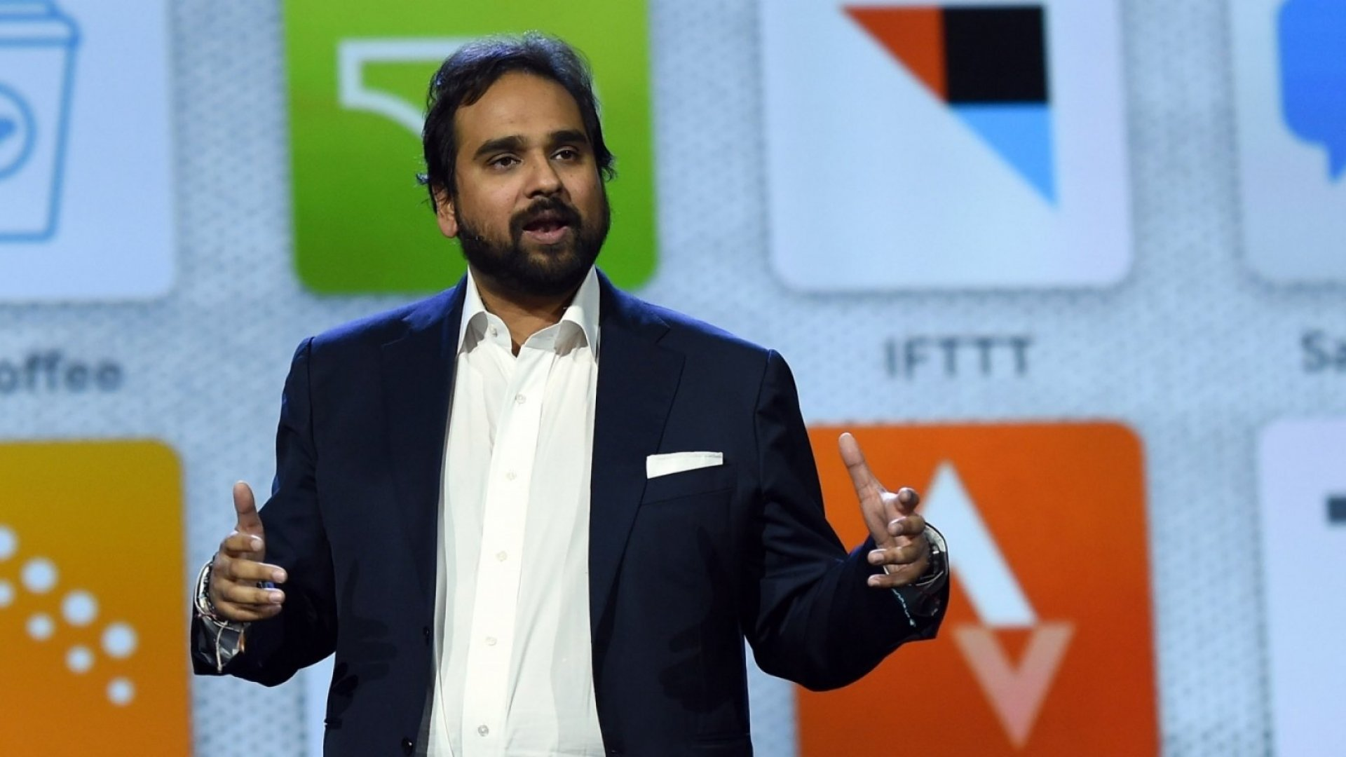 Jawbone co-founder and CEO Hosain Rahman.