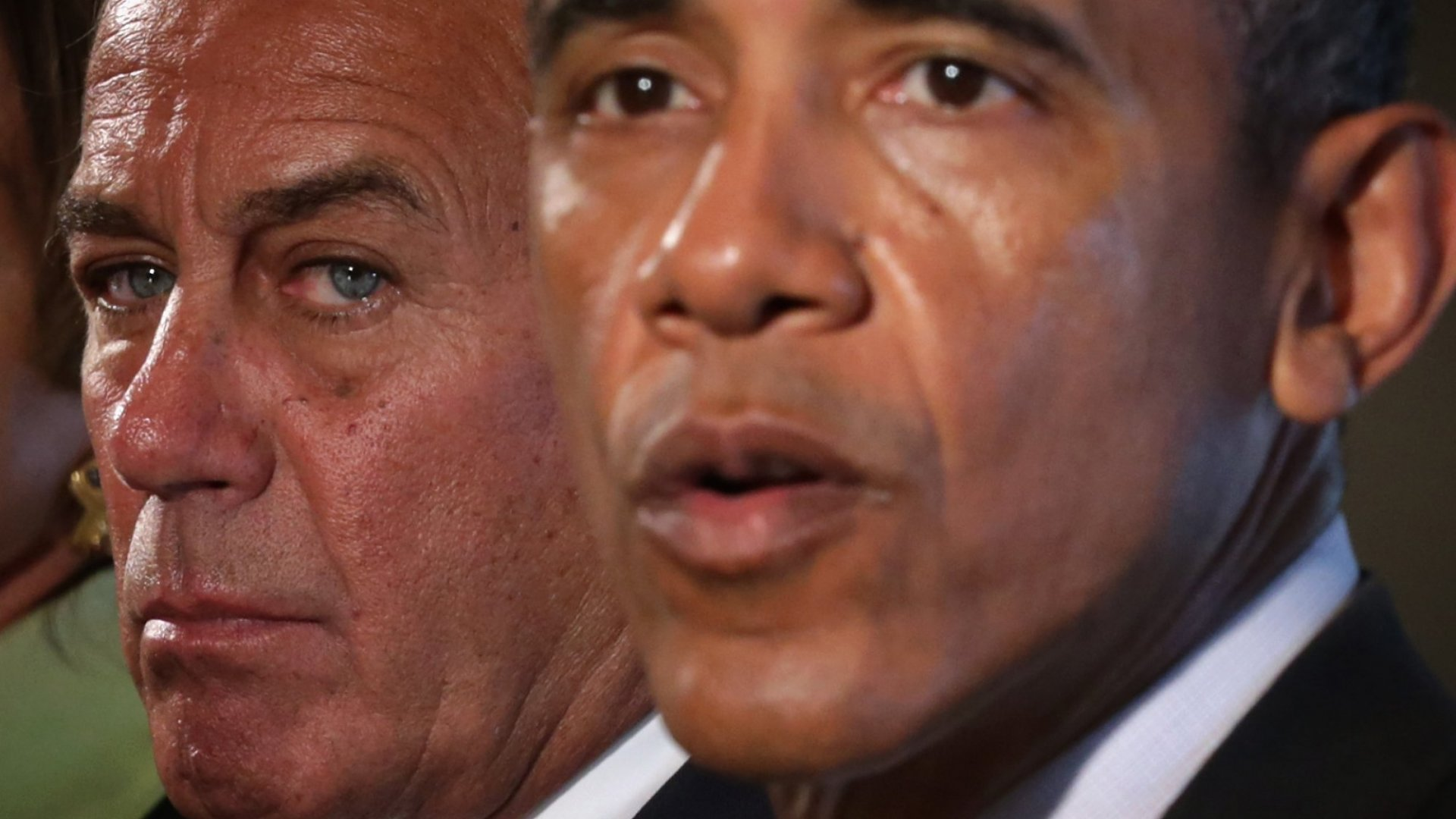 Speaker of the House Rep. John Boehner and President Barack Obama