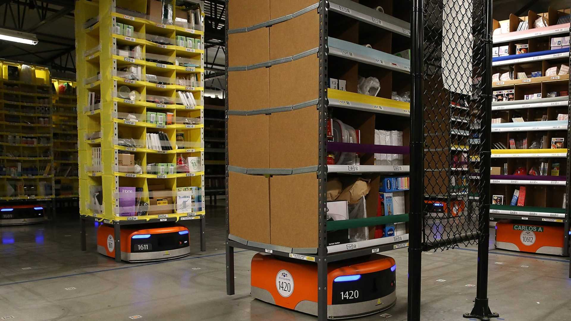 Amazon's Warehouse Robots on Track to Slash Costs by the Billions