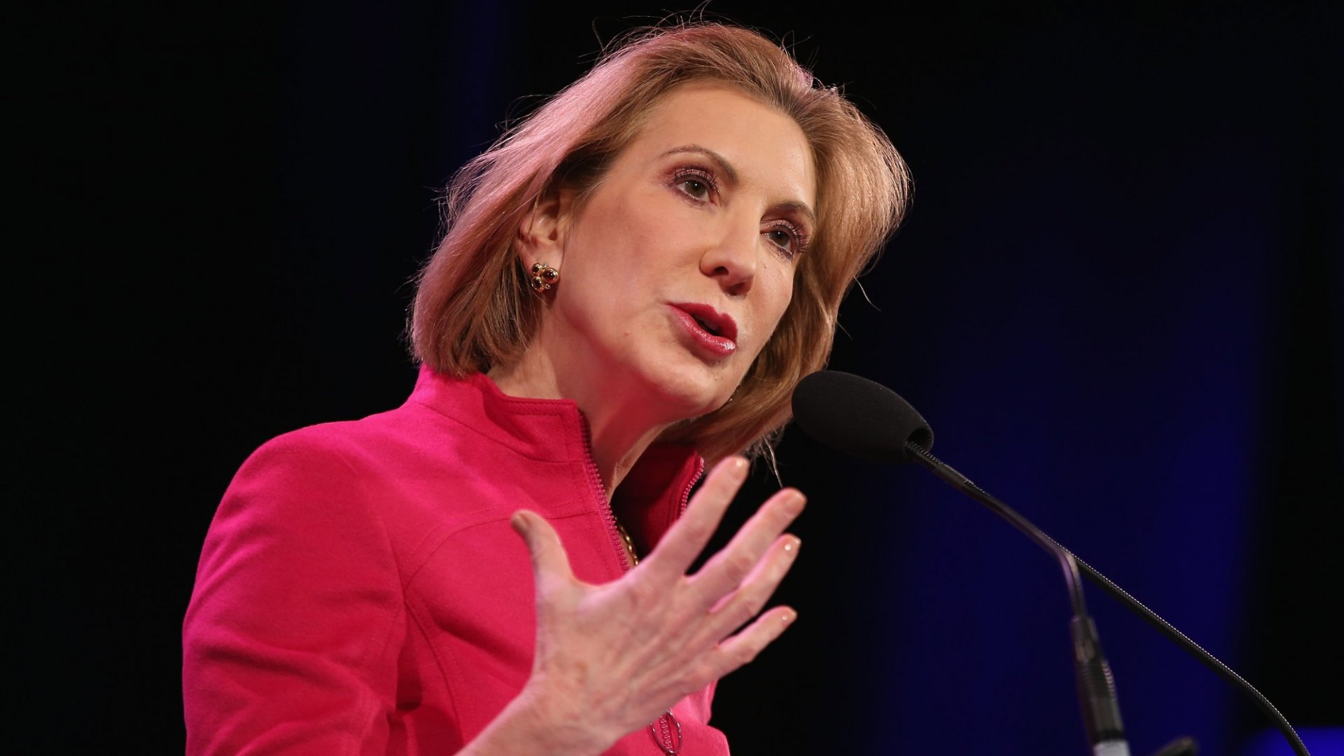 Carly Fiorina, Former CEO of Hewlett-Packard Company, will run for president.