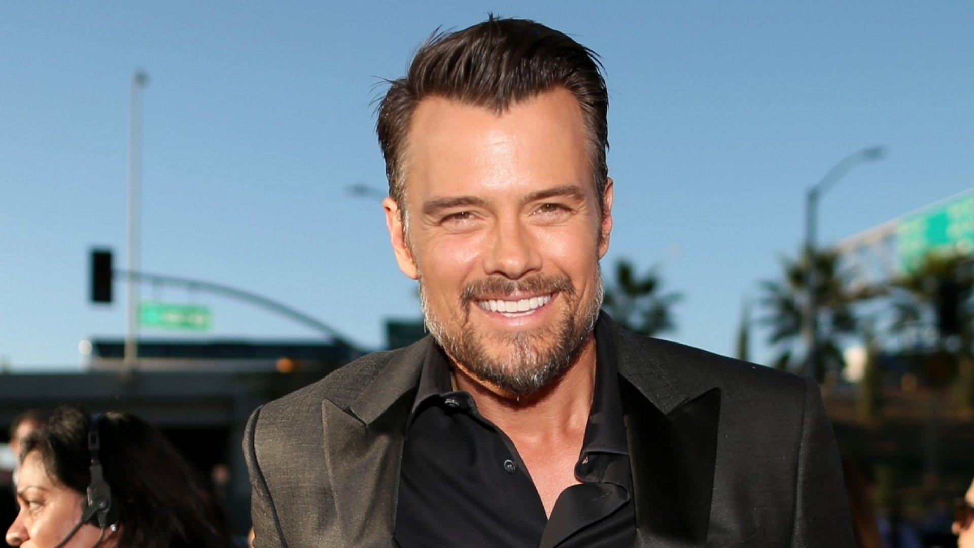 Jeep Wrangler tapped actor Josh Duhamel to help the brand promote National Dog Day.