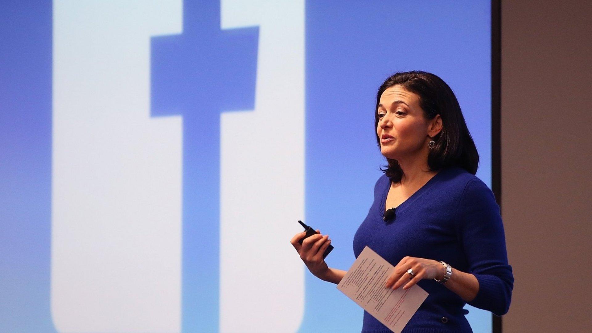 Sheryl Sandberg Isn't a Fan of the Personal Brand