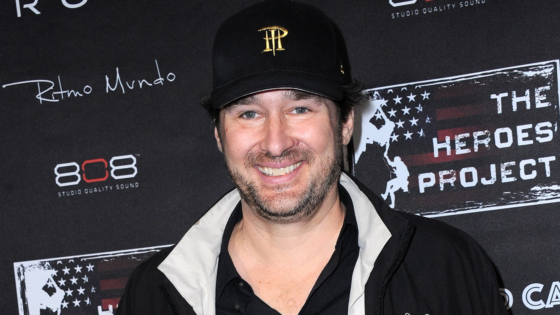 Professional poker player Phil Hellmuth at the Hollywood Cares Pre-Oscar Celebrity Poker Invitational held at Confidential Beverly Hills on February 19, 2015.